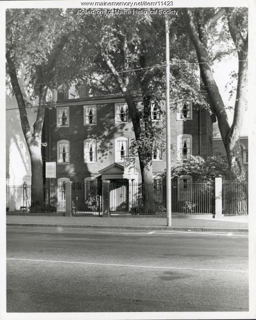 Wadsworth-Longfellow House, Portland, ca. 1960