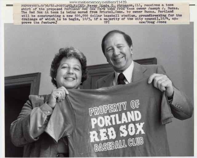 New baseball team proposed, Portland, 1982