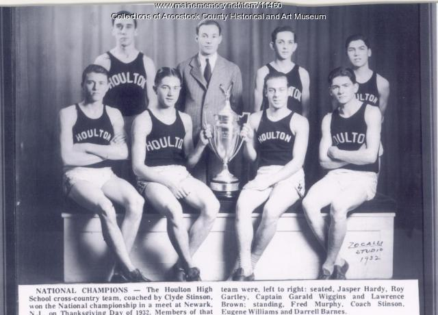 Houlton High School cross country team, 1932