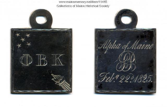 Henry Wadsworth Longfellow's Phi Beta Kappa key, 1825