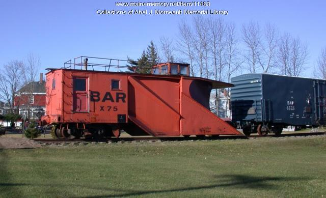 Bangor and Aroostook Railroad snow plow