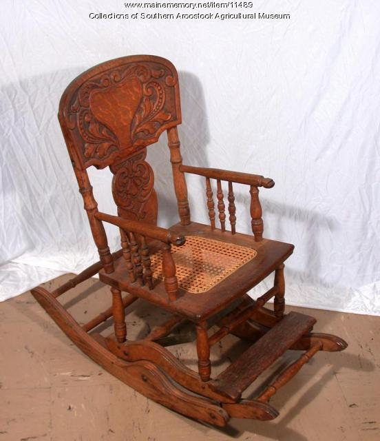 Child's rocking-high chair, Littleton, ca. 1910
