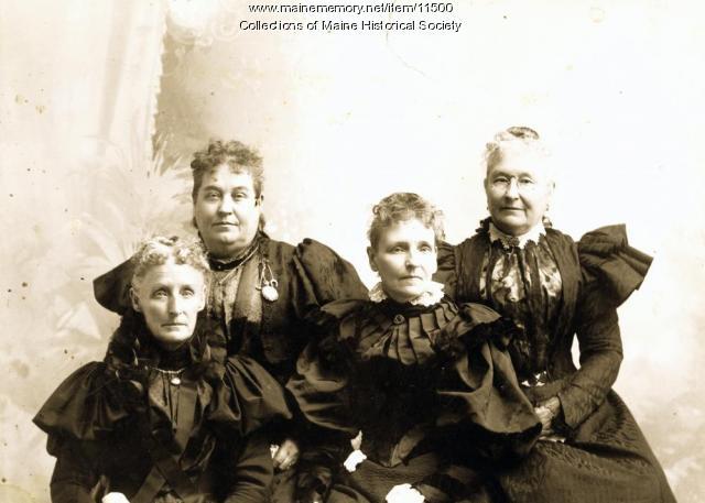 Wardwell family, Penobscot, ca. 1900