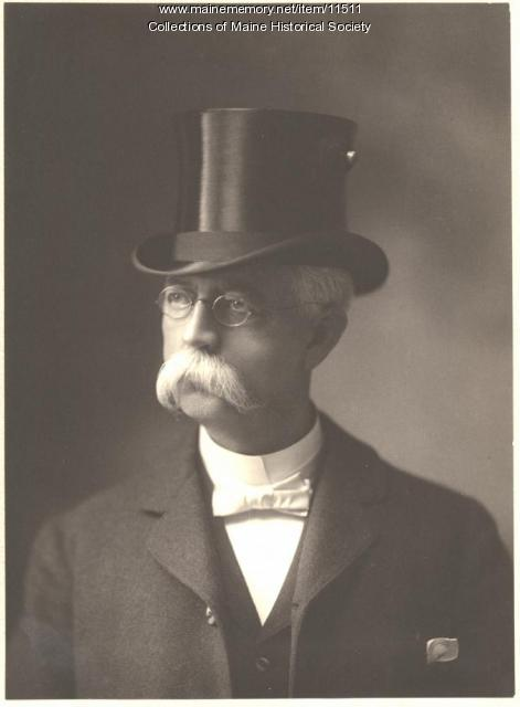 Rev. Samuel F. Pearson, Portland, ca. 1900