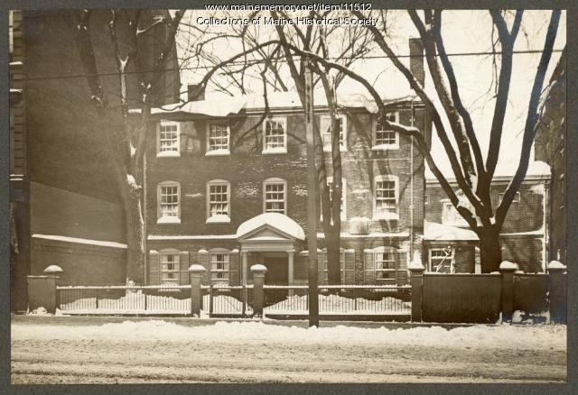 Wadsworth-Longfellow House, Portland, 1904