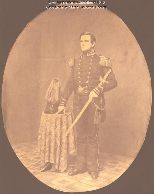Edward M. Patten, Portland, ca. 1861