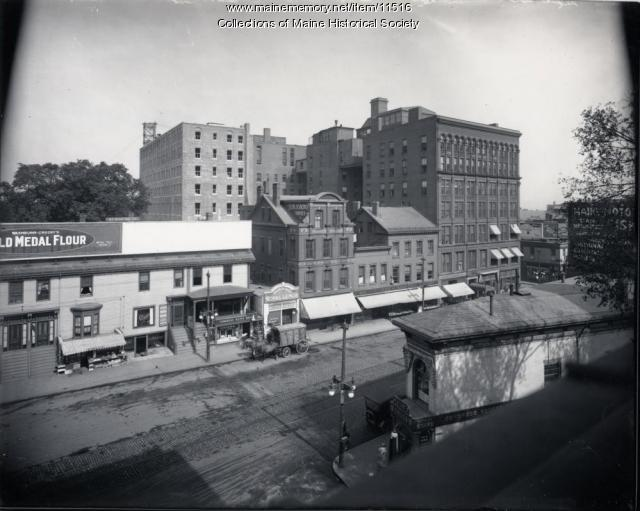 Congress Street, Portland, ca. 1915