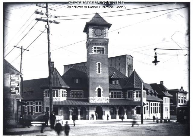 Grand Trunk station, Portland, ca. 1904