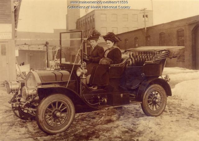 1907 Model Knox Car, The Portland Company