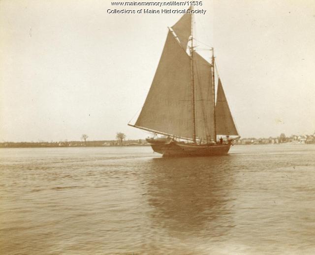 Schooner, Piscataqua River, c. 1900