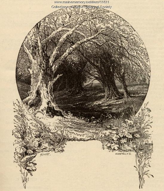 Myles Birket Foster illustration, c. 1880