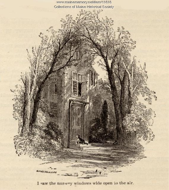 Vizetelly illustration of Longellow poem, ca. 1880