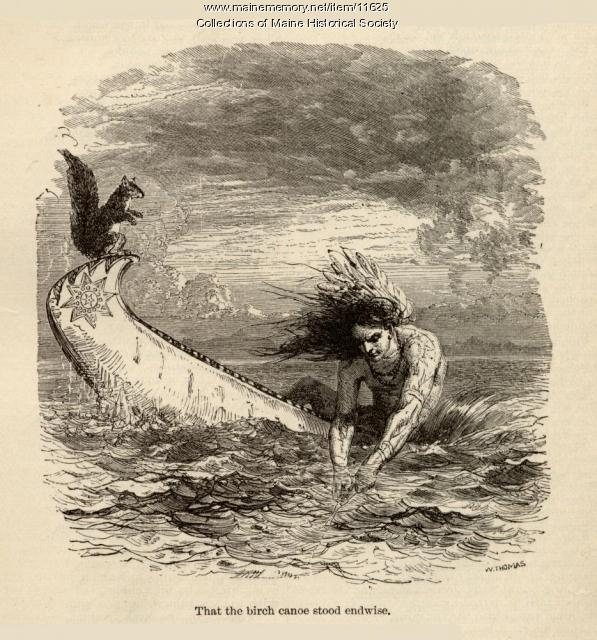 illustration to accompany the poem the song of hiawatha c  illustration to accompany the poem the song of hiawatha c 1880