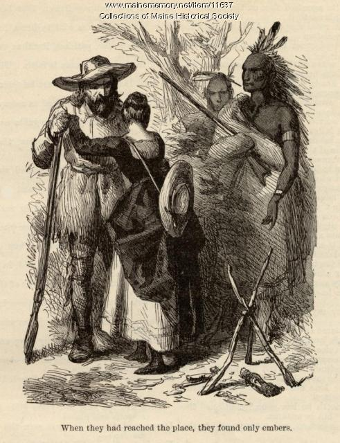 Illustration for 'Evangeline: A Tale of Acadie,' ca. 1880