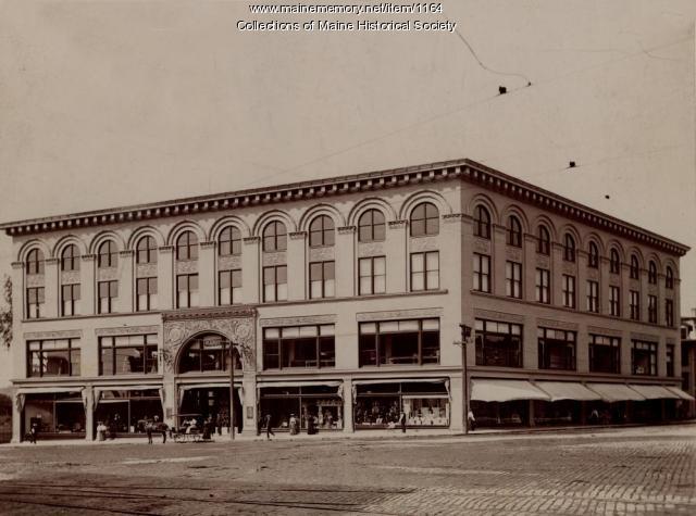 Peck's department store, Lewiston, ca. 1900