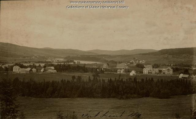 View of Fort Kent, ca. 1900