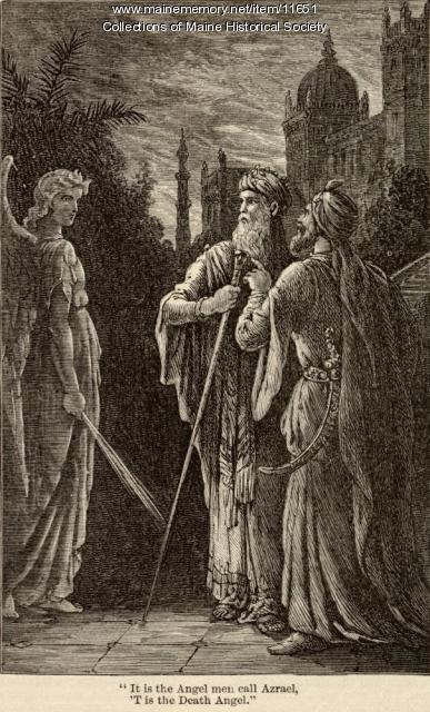 Illustration for 'The Spanish Jew's Tale,' ca. 1880
