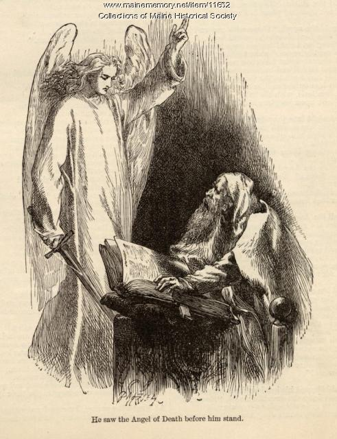 'The Spanish Jew's Tale' illustration, ca. 1880
