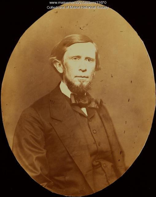 Rev. George Leon Walker, Portland, ca. 1870