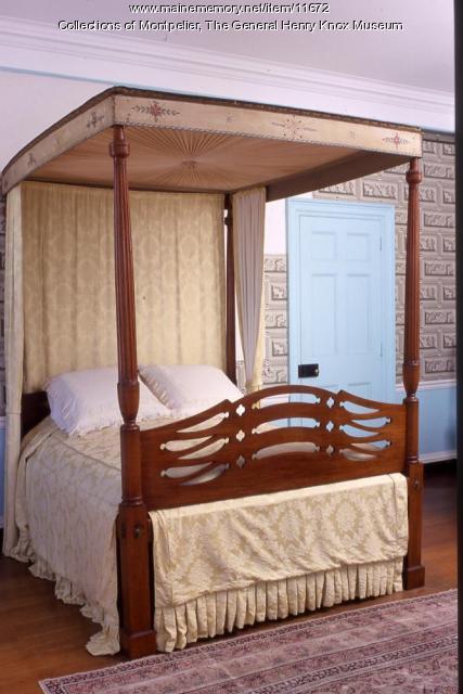 Frothingham bed, Thomaston, 1797