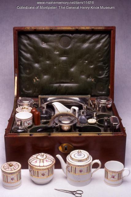 Henry Knox travel kit, ca. 1790