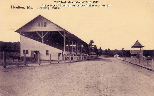 Houlton Trotting Park, 1929