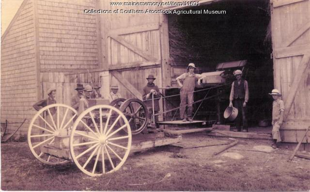 Threshing Machine, 1911