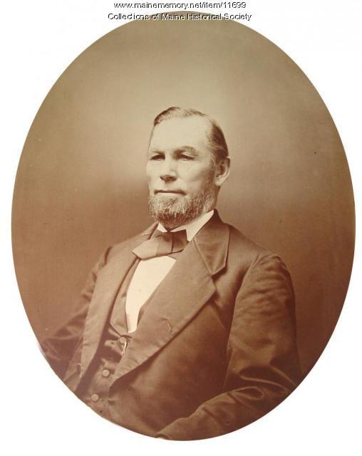 Sidney Perham, Woodstock, ca. 1870