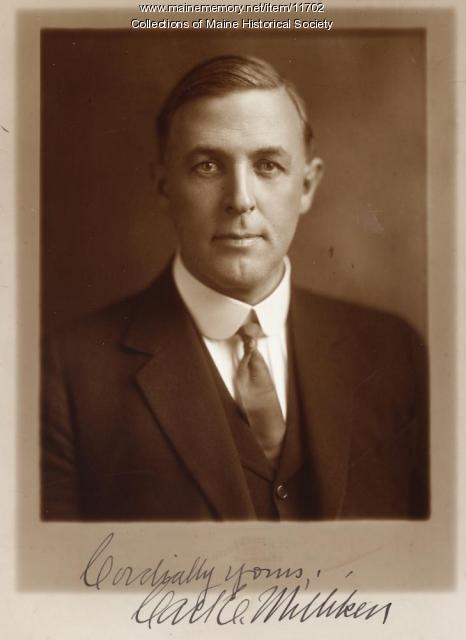 Gov. Carl E. Milliken, Augusta, ca. 1921