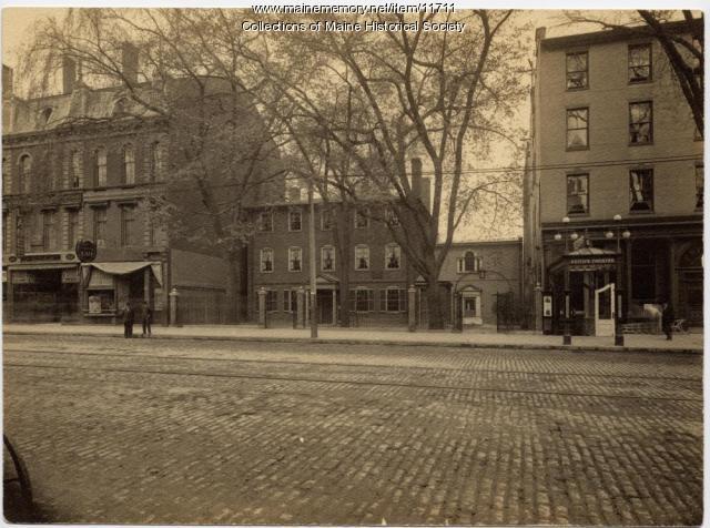 Wadsworth-Longfellow House, Portland, ca. 1908