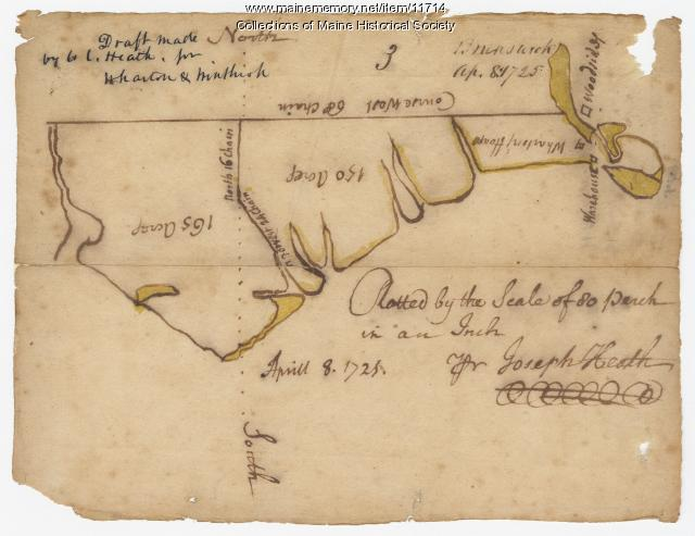 Map of Brunswick, 1725