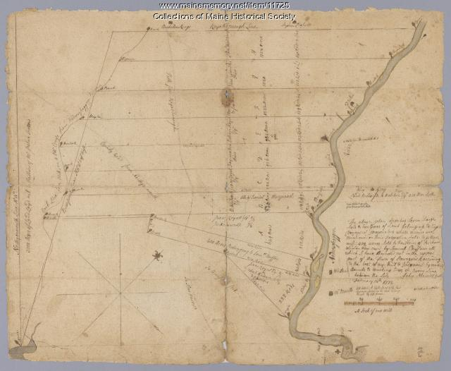 Map of Brunswick, 1772