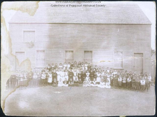 St. John's School, Brunswick, ca. 1900