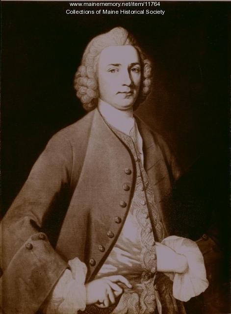 Colonel Thomas Goldthwait, Fort Pownall, 1768