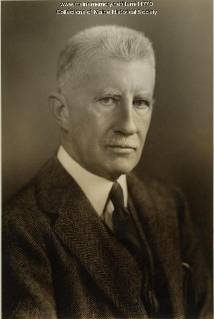 Frederick Hale, Portland