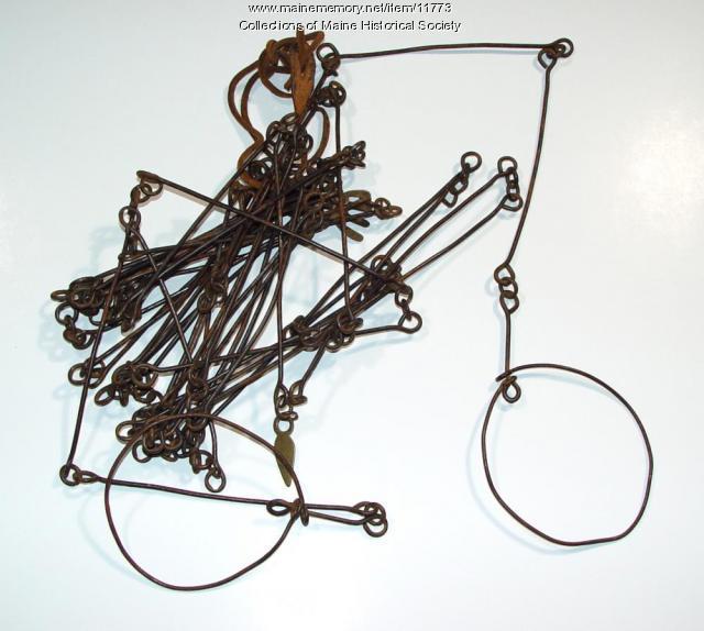 Surveyor's half chain, ca. 1800