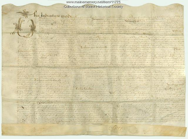 Trelawny Black Point Deed, 1631