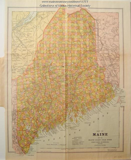 The Shape of Maine