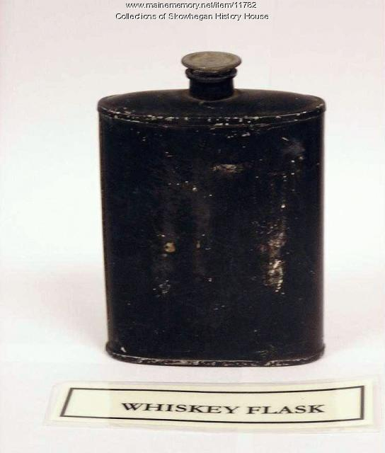 Civil War whiskey flask