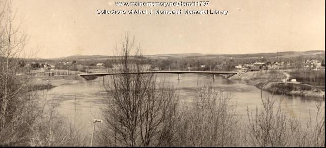 Van Buren to Saint Leonard Bridge, ca. 1930