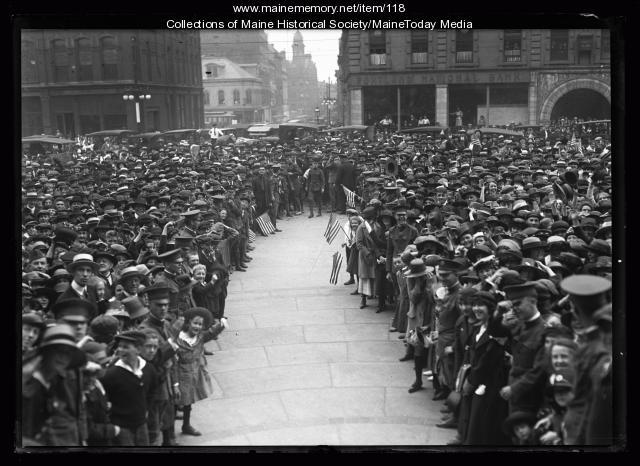 General Pershing's visit, Portland, 1920