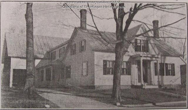 Dr. Greenleaf Wilber home, Skowhegan