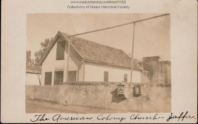 American Colony Church, Jaffa, ca. 1866