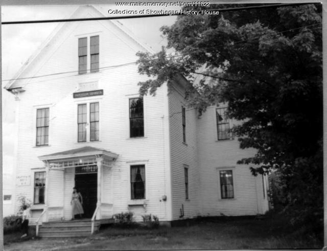 Skowhegan Grange Hall, ca. 1894