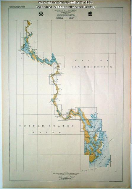 Index Map of International Boundary,  1930