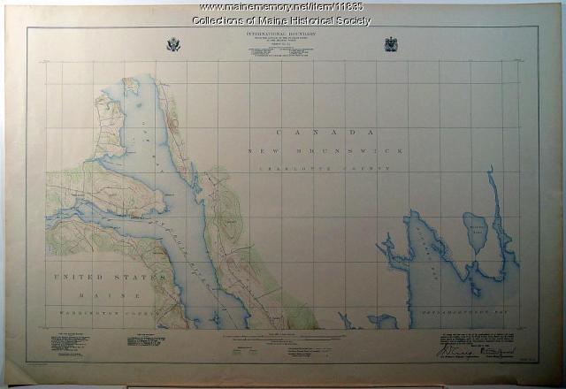 St. Croix Island and Passaquomoddy Bay, 1925