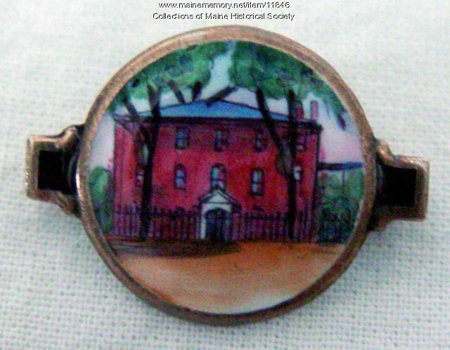 Decorative Pin, Wadsworth-Longfellow House, ca. 1930