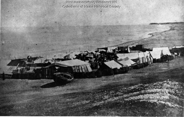 Tented settlement, Jaffa, Palestine, 1866