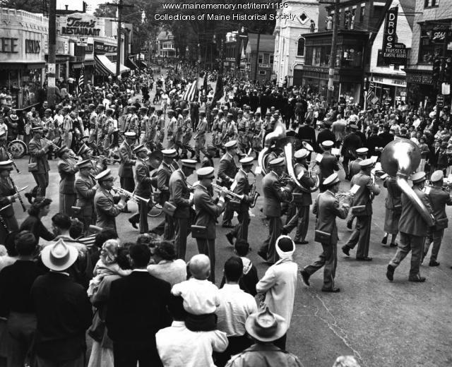Westbrook parade, ca. 1940