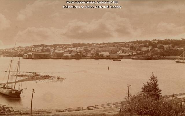 Belfast Harbor, ca. 1900